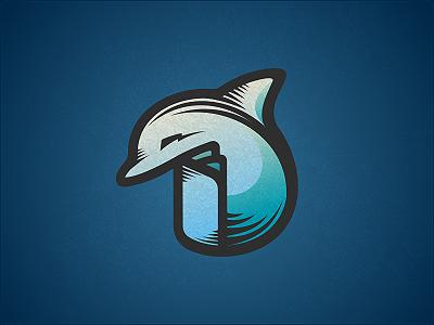 Dolphin Logo Design by Dalius Stuoka