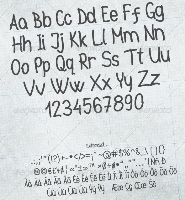 easyhand 20 Premium Sans Serif and Script Fonts