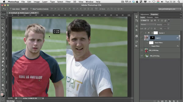 Swap Faces With Photoshop