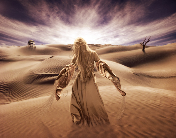 Create a Surreal Desert Scene in Photoshop