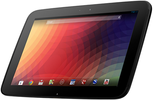 google nexus 10 s1 Best 5 tablets of 2012