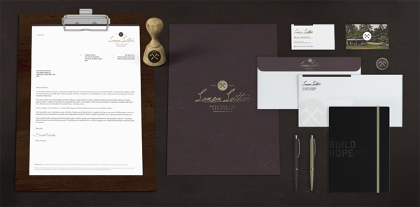 lamon luther 6 Lamon Luther Brand Identity by Russell Shaw