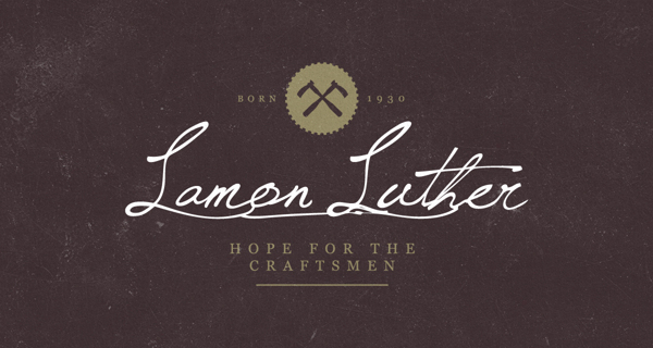 lamon luther 9 Lamon Luther Brand Identity by Russell Shaw