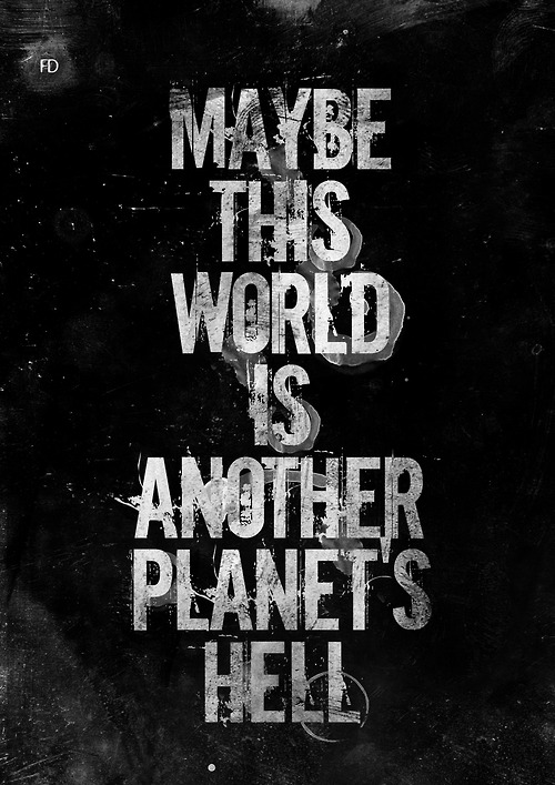 maybe this world