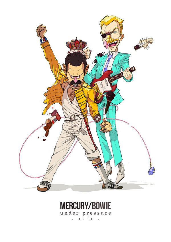 mercury bowie under pressure Best Musical Collaborations According to Pol and Sakiroo Choi
