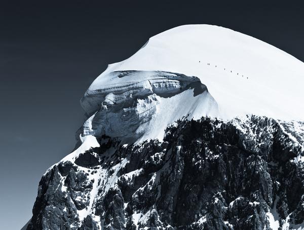Monochromatic Alps (2)