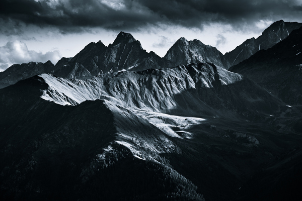 monochromatic alps 4 Exceptional Landscape Photography from Jakub Polomski