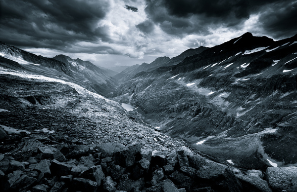 monochromatic alps Exceptional Landscape Photography from Jakub Polomski