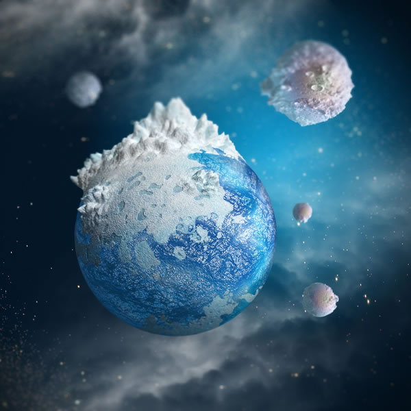 planet2 6001 31 Beautifully Crafted Photoshop Effects Tutorials