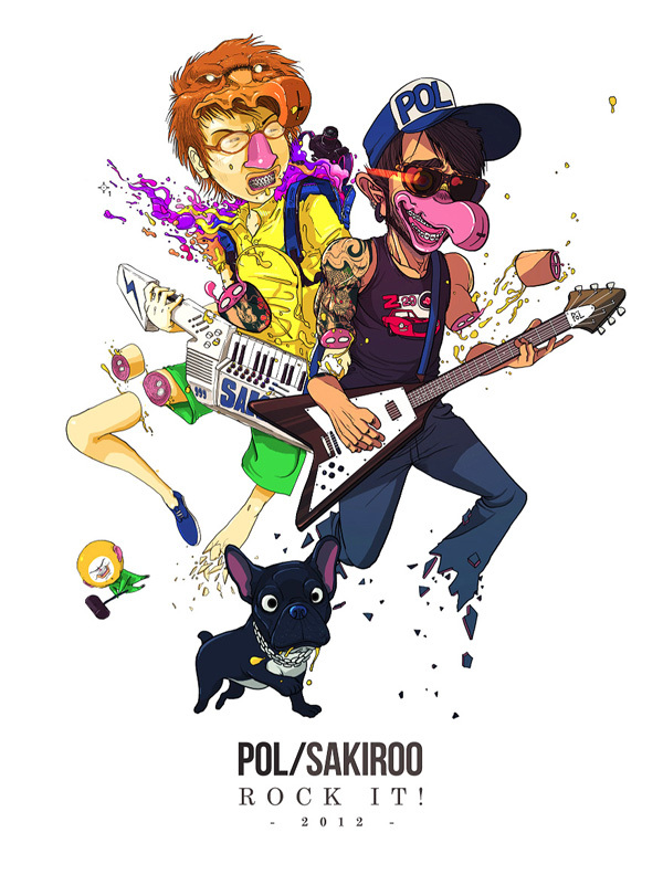 pol sakiroo rock it Best Musical Collaborations According to Pol and Sakiroo Choi