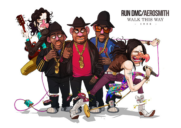 run dmc aerosmith walk this way Best Musical Collaborations According to Pol and Sakiroo Choi