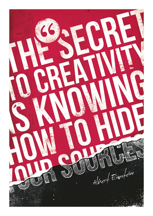The Secret to Creativity by Pawe? Kadysz