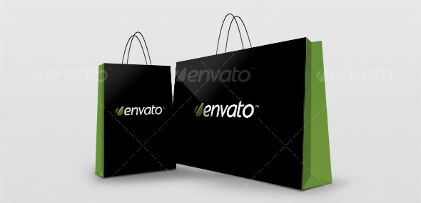 shopping bag mockup 30 Product Mock Up Resources from Graphicriver