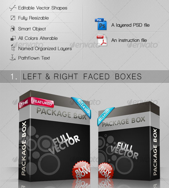 smart 3d package box 30 Product Mock Up Resources from Graphicriver