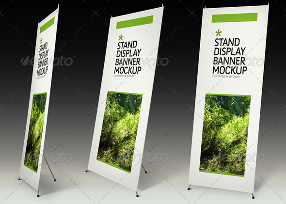 stand display mockup 30 Product Mock Up Resources from Graphicriver
