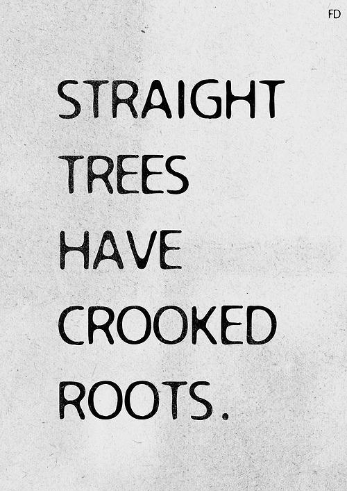 straight trees