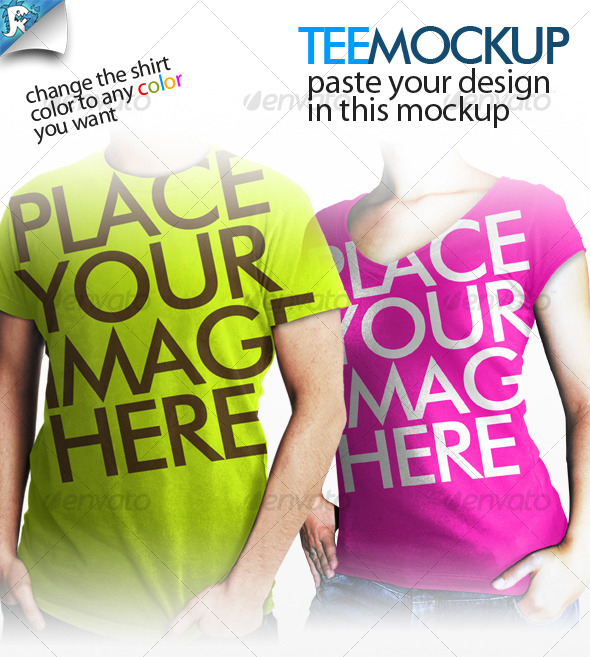 teemockup 30 Product Mock Up Resources from Graphicriver
