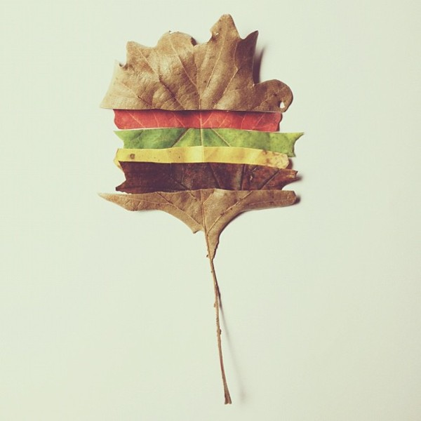 this fell from the cheeseburger tree Conceptual iPhone Photography from Brock Davis