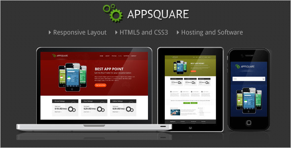 01 appsquare wp preview   large preview1 15 Premium Hosting Wordpress Themes