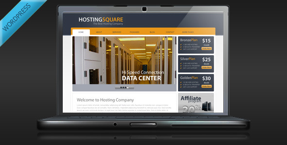 01 hostingsquare wp preview   large preview1 15 Premium Hosting Wordpress Themes