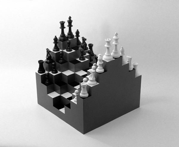 3D Chess board by Ji Lee