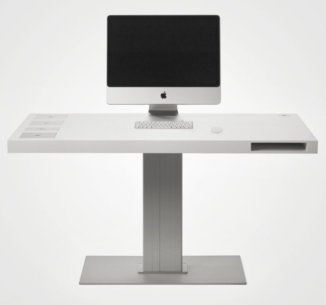 Milk Classic Desk by Soren Rose