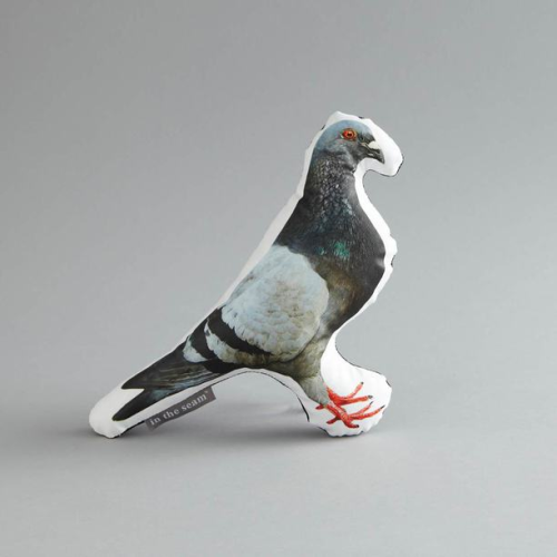 Pigeon Printed Pillow
