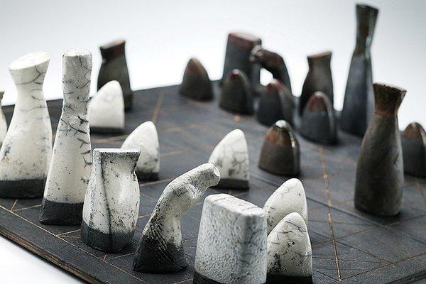 Ceramic Chess