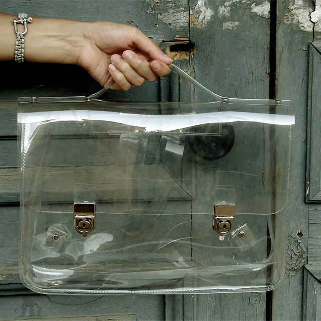 Transparent Ghost Bag No. 2 by Yegane Dilek