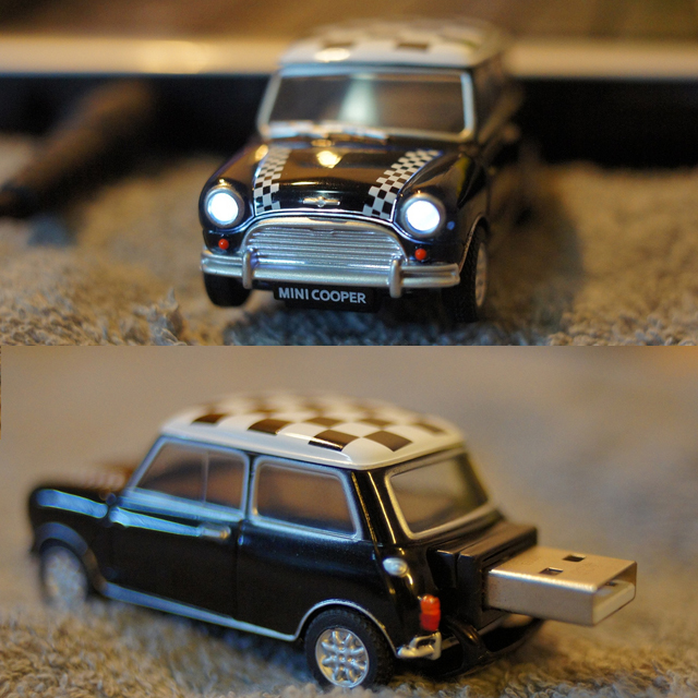 Mini Cooper USB Drive