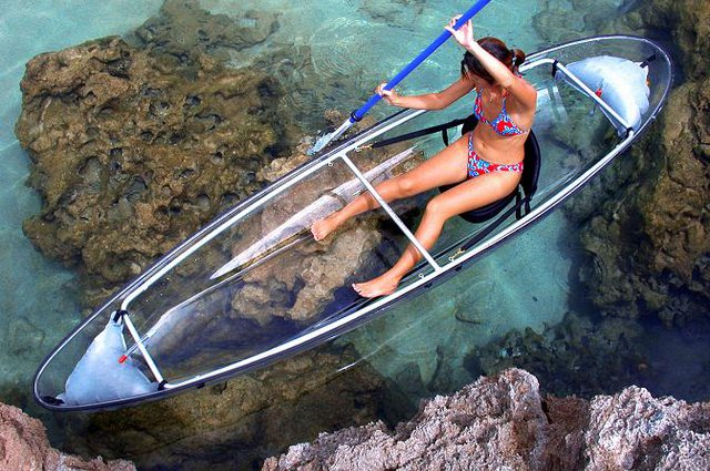 Transparent Kayak by Clear Blue Hawaii