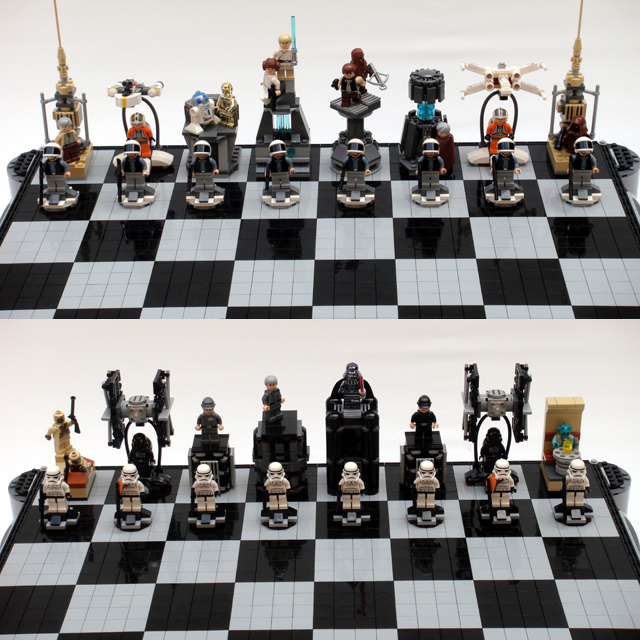 Star Wars Lego Chess