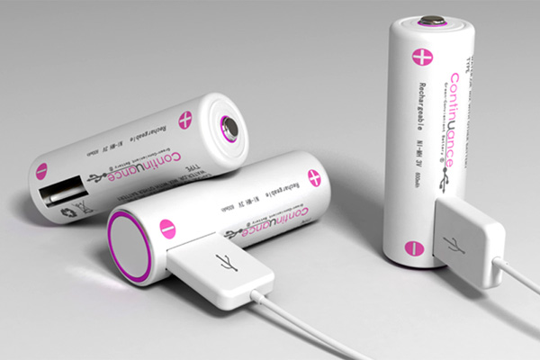 Continuance Rechargeable USB Battery