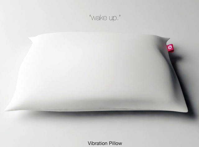 Alarm Pillow by Seung Jun Jeong