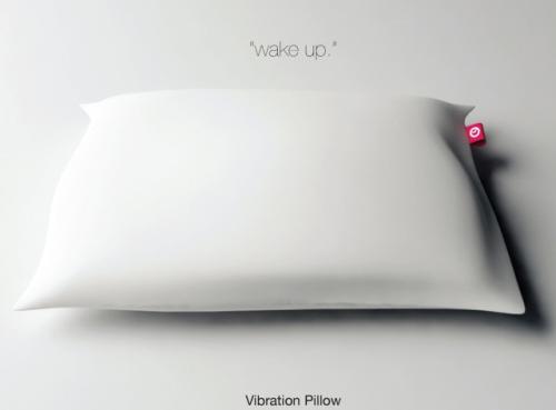 Alarm Pillow by Seung Jun Jeong