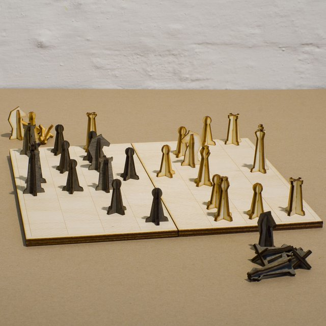 Nonessentials Chess Set