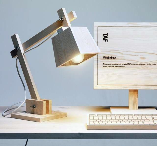 Wood Lamp by Muuto