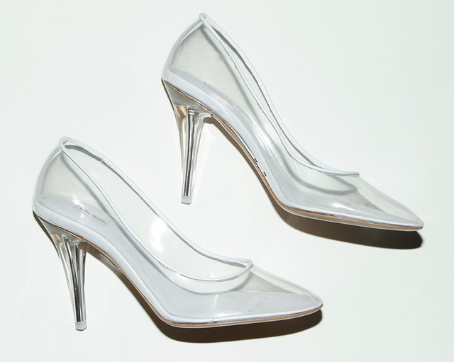 Marc Jacob Transparent Pump