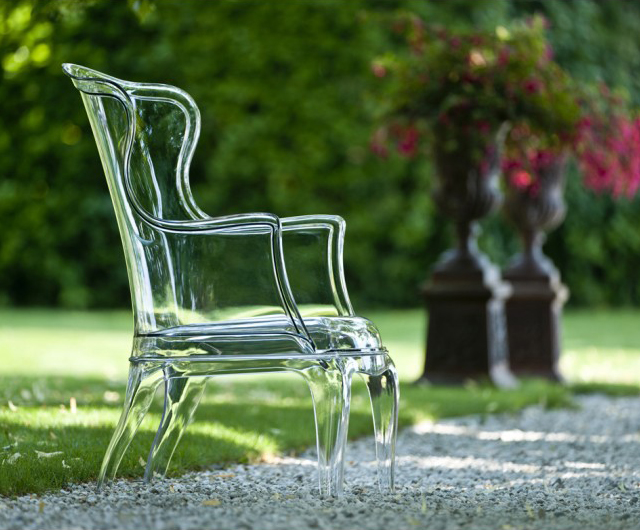 Pasha Transparent Armchair