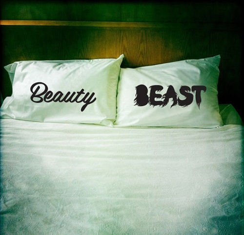 Beauty & Beast Pillow Case Set