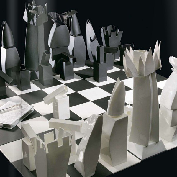 Frank Gehry's Chess x Tiffany and Co.
