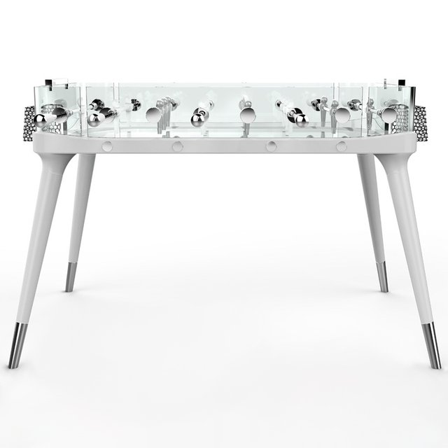 Transparent Foosball Table by Teckell