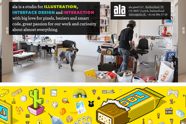 ala 35 Interactive Parallax Scrolling Website Designs