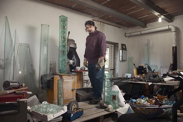 Alessandro Cadamuro, Glass sculptor