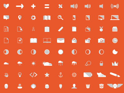 Angular icon set by Jason Robles
