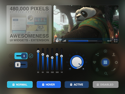 Awesomeness Ui Widgets Extension by Luis M Ruiz