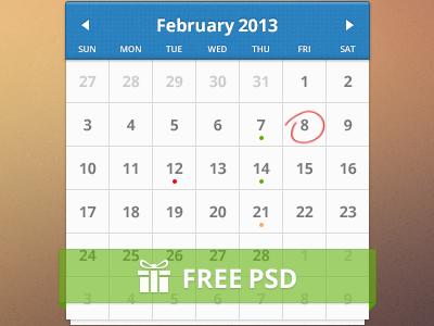 Free Calendar by Stafie Anatolie