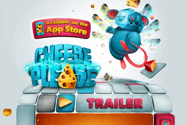 cheese please 35 Interactive Parallax Scrolling Website Designs