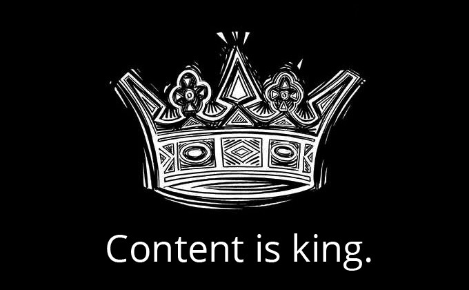 content is king1 The SEO Co Citation Crisis is at Hand