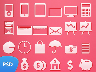 49 Icons (Freebie) PSD by Seevi